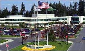 Microsoft headquarters in Washington