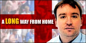 Phil Long - BBC Sport Online's man with the Barmy Army