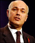 Conservative Party leader Iain Duncan Smith