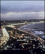 Durban's beachfront 