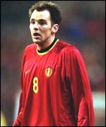 Bart Goor is one of the Belgian side's most experienced players