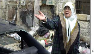 Palestinian woman in Bethlehem