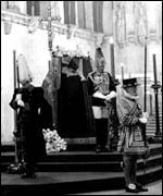 King George VI lying in state