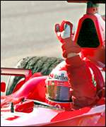Formula One champion Michael Schumacher