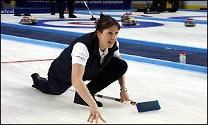 Scottish curling champion Jackie Lockhart