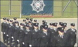 The new recruits graduated in Belfast