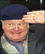 Benny Hill was one of Britain's most famous comedians