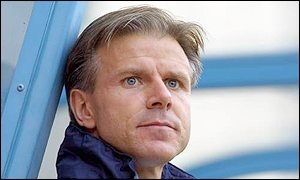 Coventry player-manager Roland Nilsson