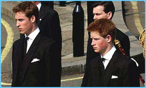 Prince and William and Prince Harry