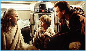 Ewan McGregor in Star Wars: Episode I