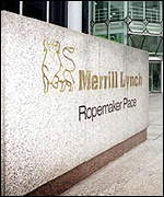 Oficinas de Merrill Lynch en Londres.