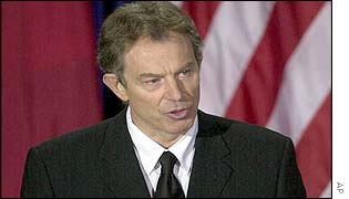 Tony Blair in Texas