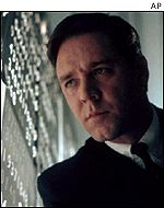 Russell Crowe in Oscar-nominated A Beautiful Mind