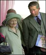 Charles and Queen Mother