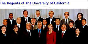 The regents of the University of California