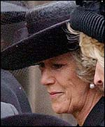 Camilla Parker Bowles, long-term companion to Prince Charles