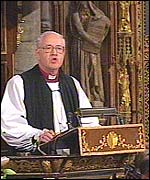 Archbishop of Canterbury, Dr George Carey