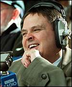 Five Live commentator Alan Green