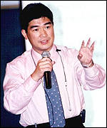 Sin Chung-Kai is a democrat legislator
