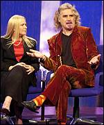 Pamela Stephenson and Billy Connolly