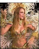 Garota En El Carnaval De R O Janeiro