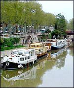 Narbonne canal scene