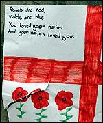 Poem by a 9-year-old mourner