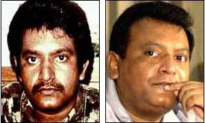 Vellupillai Prabhakaran in the early 1990s and now