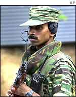 Tamil Tiger soldier
