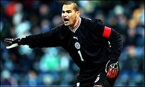 Jose Luis Chilavert is being touted as a president of the future