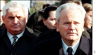Vlajko Stojiljkovic and Slobodan Milosevic