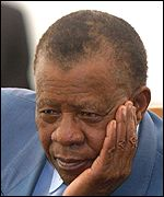 Sir Ketumile Masire, the facilitator