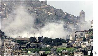 Explosion in Nablus