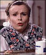 Julie Walters has regularly appeared with Wood on TV