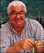 Oliver trained with top chef Antonio Carluccio