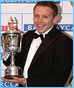 Young player winner Craig Bellamy