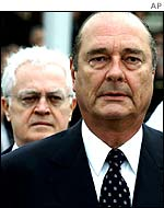 Lionel Jospin and Jacques Chirac
