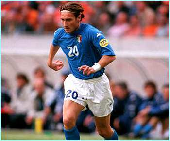 Italy's Francesco Totti is one of the most skilled players in the world, and is sure to be a constant threat to the opposition