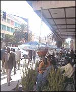 A cafe in Asmara