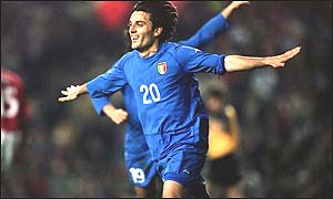 Roma and Italy forward Vincenzo Montella