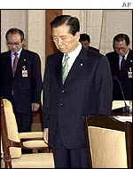 South Korean President Kim Dae-jung