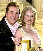 Michael Ball and Emma Williams