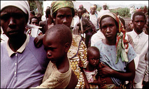 Tutsi refugees on DR Congo