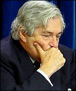 Word Bank President James Wolfensohn