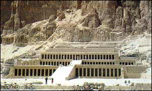 Hatshepsut Temple in Luxor, Upper Egypt