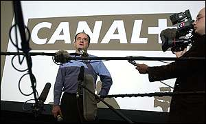 Pierre Lescure, Canal Plus' ousted chairman
