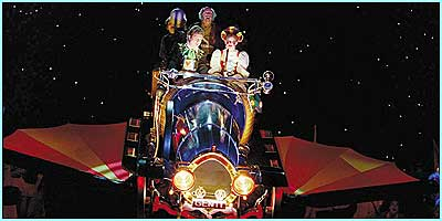 Chitty Chitty Bang Bang arrives on the stage in London
