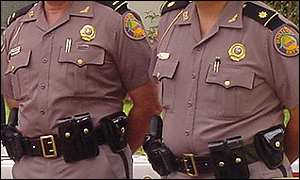 Florida Highway Patrol police officers