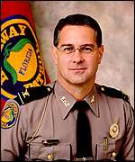 Florida Highway Patrol director Colonel Christopher Knight