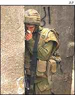 Israeli soldier encounters the smell of death